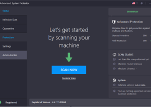 Advanced System Protector download screenshot