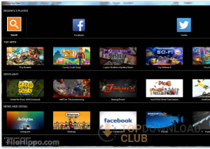 BlueStacks App Player download screenshot