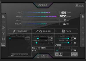 MSI Afterburner download screenshot