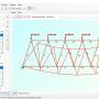 2D Frame Analysis Truss Edition 6.5 screenshot
