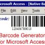 Access Linear Barcode Generator 19.09 screenshot