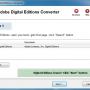 Adobe Digital Editions Converter for Mac OS X 2.11.1.281 screenshot