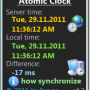 Atomic Clock 3.0 screenshot