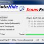 AutoHideDesktopIcons 4.55 screenshot