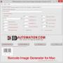 Barcode Image Generator for Mac 2011 screenshot