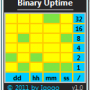 Binary Uptime 1.7 screenshot
