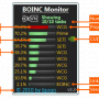 BOINC Monitor 9.93 screenshot
