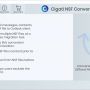 Cigati NSF Converter Tool 20.0 screenshot