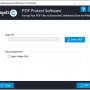 Cigati PDF Protect Tool 19.0 screenshot