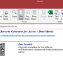 Access Data Matrix Barcode Generator 21.07 screenshot