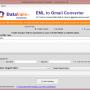 Datavare EML to Gmail Converter 1.0 screenshot