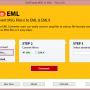 Email Convert MSG to EML 3.2 screenshot
