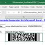 Excel PDF417 Barcode Generator 21.10 screenshot