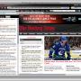 Hockey News IE Browser Theme 0.9.2 screenshot