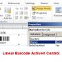 Linear Barcode ActiveX Control 19.11 screenshot