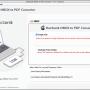 MacSonik MBOX to PDF Converter for Mac 21.4 screenshot