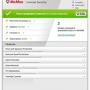 McAfee Internet Security 2013  screenshot