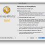 MoneyWorks Cashbook for Mac OS X 9.0 screenshot