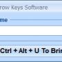 Move Mouse With Keyboard Arrow Keys Software 7.0 screenshot