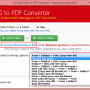 Outlook Mail Export to PDF 6.0 screenshot