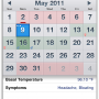 Ovulation Calendar 5.0 screenshot
