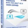Paragon NTFS for Mac OS X Snow Leopard Free screenshot