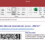 Access PDF417 Barcode Generator 21.07 screenshot
