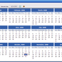 Portable AMP Calendar 2.42 screenshot
