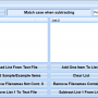 Remove One List From Another Software 7.0 screenshot