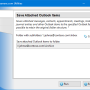 Save Attached Outlook Items 4.18 screenshot
