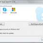 Seaside Multi Skype Launcher 1.33 screenshot