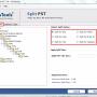 Split PST File 7.0 screenshot