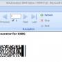 SSRS PDF417 Barcode Generator 21.01 screenshot