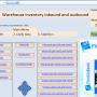 Warehouse inventory inbound and outbound Dec2011 screenshot