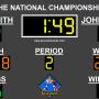 Wrestling Scoreboard Standard 3.0.1 screenshot