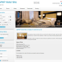 X-White Template for ApPHP Hotel Site 1 screenshot