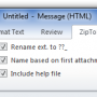 Zip to Email Free 1.00.23 screenshot